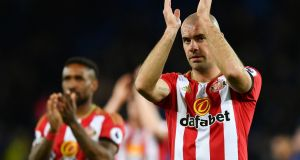 Darron Gibson, who appeared to suggest that Lamine Koné, Jeremain Lens and Wahbi Khazri were among those not pulling their weight for Sunderland. Photograph: Dan Mullan/Getty Images