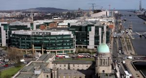 The Irish Financial Services Centre: 15 of the world's top 20 banks now have operations in Ireland. Photograph: Matt Kavanagh