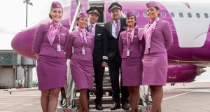 Pilots and cabin crew of   Wow airline: the Cork to Reykjavik service will be suspended at the end of October