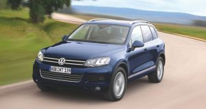 VW Touareg: likely to face a road ban