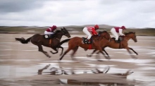 The 'other Galway Races' takes place on the beach in Connemara