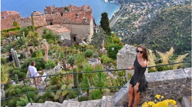 Eze village near Nice, France.