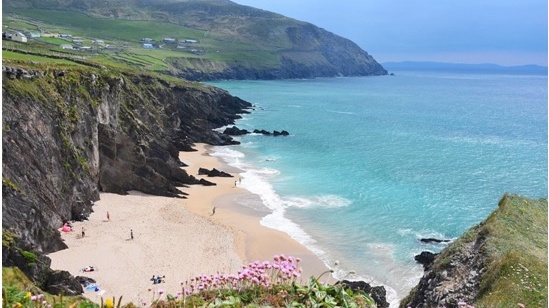 Coomenoole Beach in Dingle, Co Kerry.