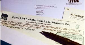 Local authorities across Ireland have discretion to vary property tax by the order of plus or minus 15 per cent. (Photograph: Bryan O'Brien / THE IRISH TIMES)