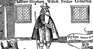 Beth Underdown's The Witchfinder's Sister  is based on the life of England's notorious Witchfinder-General, Matthew Hopkins