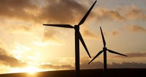 The wind energy sector in Ireland has been particularly active in the past nine months. Photograph: Getty Images
