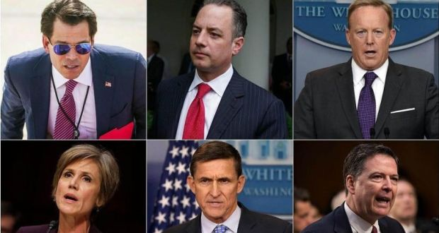 You're Fired: Who's who in the Trump sackings and resignations
