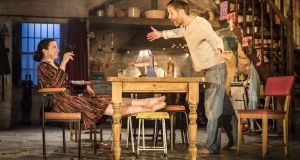 Laura Donnelly and Paddy Considine in The Ferryman. Photograph: Johan Persson