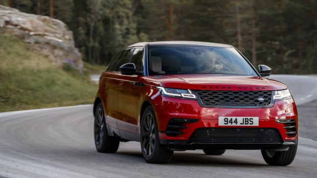 The Velar's agility is wedded to a very comfortable ride quality.