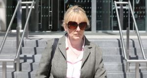 Det Sgt Eve Doherty: the Dublin-based detective was found guilty of harassing Elizabeth Howlin, a division head at the Office of the Director of Public Prosecutions. Photograph: Paddy Cummins/PCPhoto.ie