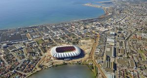 Mandela Bay Stadium in Port Elizabeth, South Africa, home of the Southern Kings who, alongside Toyota Cheetahs, have been added to  Pro14