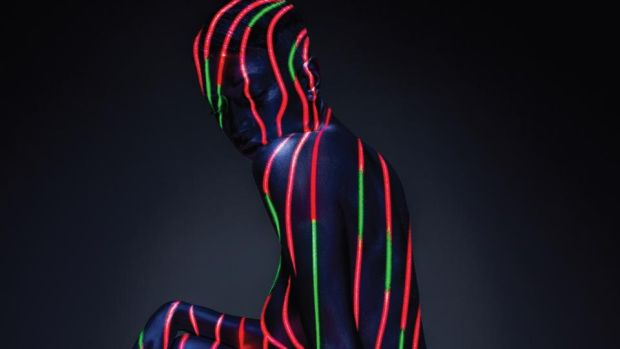 A detail of The Low End, created by Timothy Saccenti for A Tribe Called Quest