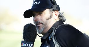 David Feherty has confirmed the death of his son Shey from an oversode. Photograph: Getty Images