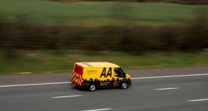 The AA said its performance in the first half of its financial year had been hit by a combination of an erratic workload and an inherently fixed cost base. Photograph: Phil Noble/Reuters