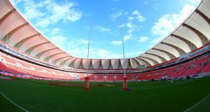 Nelson Mandela Bay Stadium, home of the Southern Kings in Port Elizabeth.  Photograph:  Richard Huggard/Gallo Images/Getty Images)