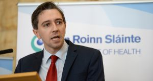 "Minister for Health Simon Harris:  said ""delays arose and, in February 2017, the hospital was advised that the candidate was no longer in a position to take up the post"". Photograph: Dara Mac Donaill"
