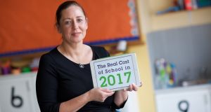 Mother Michelle Metcalfe says back-to-school time is a very stressful time of year for parents. Photograph: Patrick Bolger