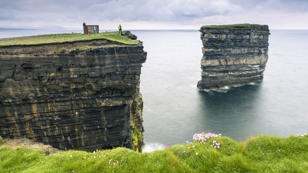 Downpatrick Head, Co Mayo. Photograph: Getty images