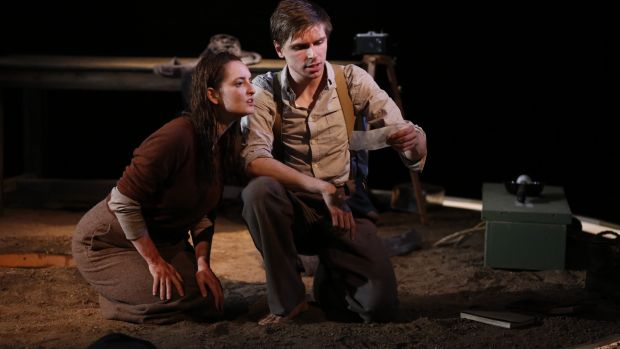 Maeve O'Mahony and Peter Corboy in 'Outlying Islands'.