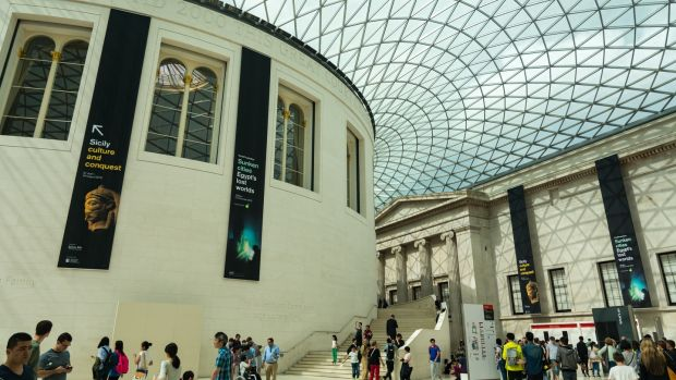 The British Museum in Great Russell Street, London. Photograph: Getty Images