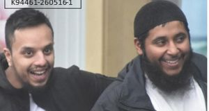 "Mohibur Rahman (left) and Khobaib Hussain, two of the  ""three musketeers"" found guilty of plotting a Lee Rigby-style attack in Britain. Photograph: West Midlands Police/PA"