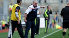"Former Armagh manager Paul Grimley: ""The 2003 final and that semi-final hurt Armagh people a hell of a lot. When it came down to the crunch in both years Tyrone won those battles."" Photograph:  INPHO/Donall Farmer"
