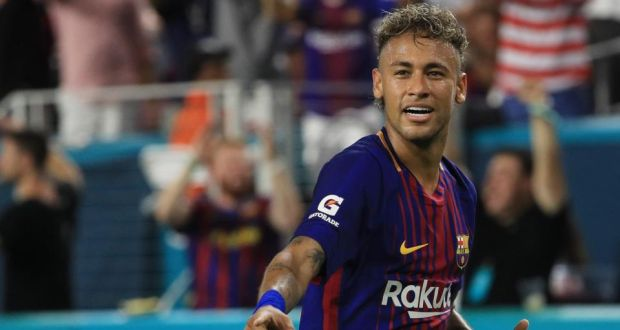 286300e3924c0 La Liga have rejected PSG s attempt to pay Neymar s €222 million buy-out  clause