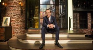 Stimulating discussion: Ryan Tubridy on the set of 'The Late Late Show'. Photograph: Andres Poveda