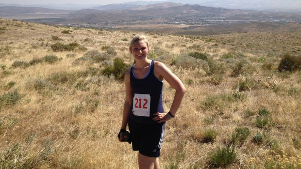 Irish abroad: Caroline Cobine-Boschult, who lives in Nevada
