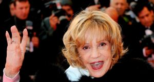 Jeanne Moreau in Cannes, May 2008. Photograph: Epa