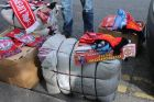 Some of the items seized outside the Aviva Stadium. Photograph: Garda Press Office