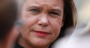 "Mary Lou McDonald: ""You either take the plunge and you go into government or you don't."" Photograph: Nick Bradshaw"