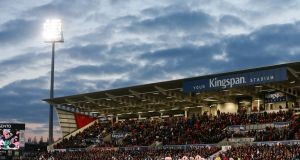 Kingspan Stadium will be the host for Ulster v Cheetahs in the Pro14. Photo: Inpho
