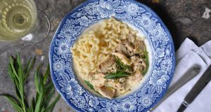 Lilly Higgins: Chicken with white wine and tarragon