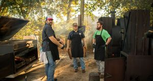 The Home Team crew from Charleston, South Carolina  will be doing a deep south barbecue pitmasterclass at The Big Grill festival in Herbert Park, Dublin, from August 17th-20th