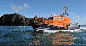Baltimore lifeboat: the Alan Massey; 40 of the village's 300 or so permanent residents are RNLI volunteers. Photograph: Michael Mac Sweeney/Provision