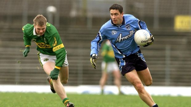 Senan Connell while playing for Dublin against kerry in 2001. Photo: Tom Honan/Inpho