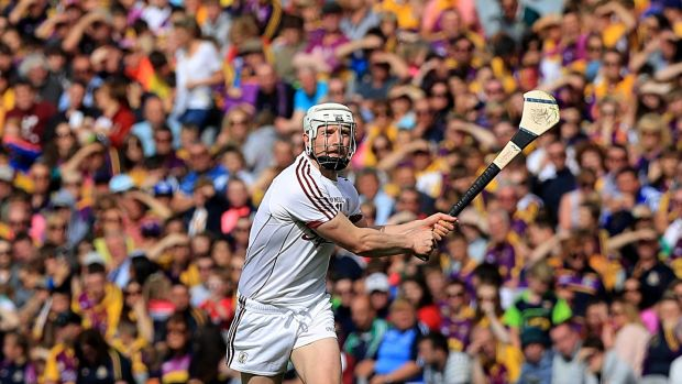 Joe Canning will play his usual free-roaming game. Photo: Donall Farmer/Inpho