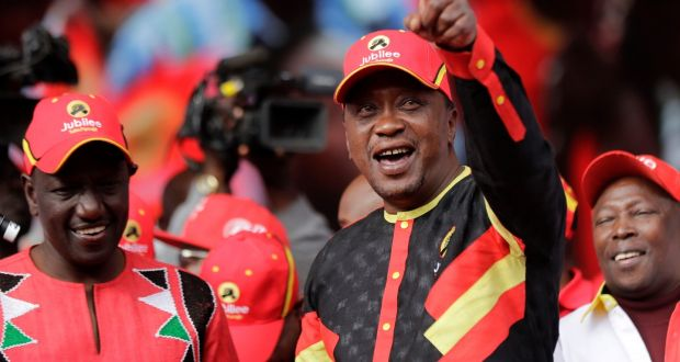 Shadow of violence hangs over Kenya's presidential election