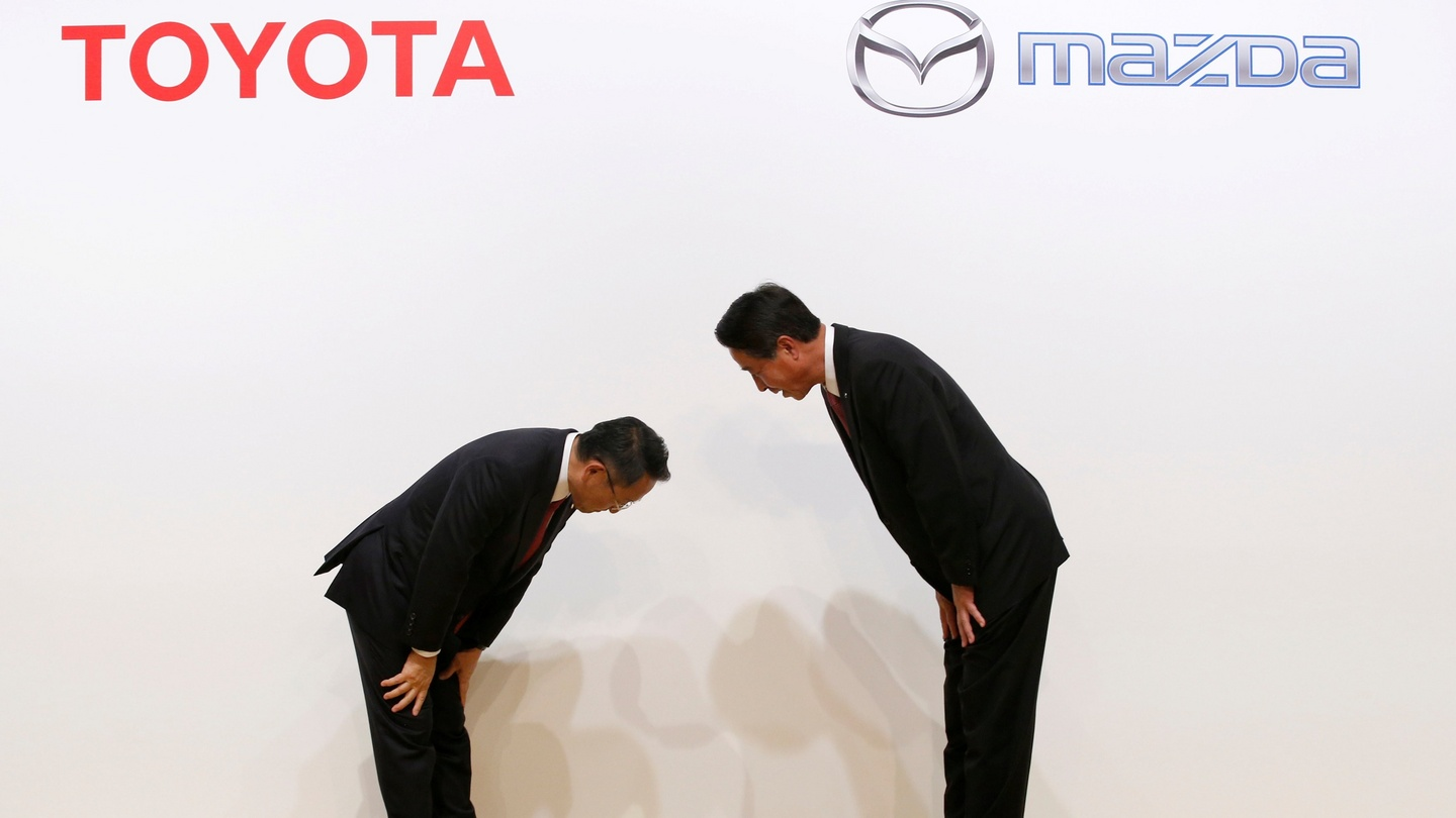 Toyota tackles threat from tech giants with mazda deal fandeluxe Gallery