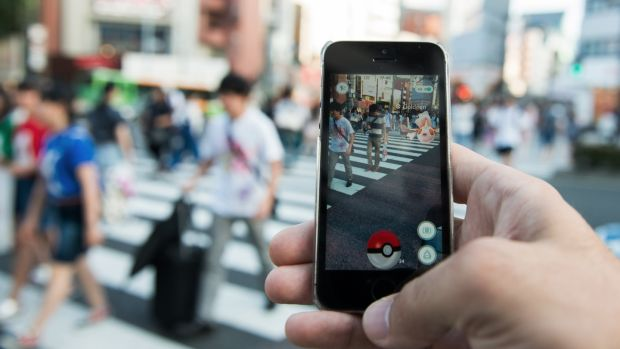 iPhone 8 leak: soon Pokémon Go won't be the only augmented reality game in town. Photograph: Noriko Hayashi/Bloomberg