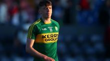 David Clifford was among the point scorers for kerry in their All-Ireland MFC quarter-final win over Louth at O'Moore Park. Photograph: Cathal Noonan/Inpho