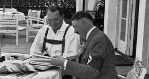 Nazis: Hermann Goering  with Adolf Hitler in 1937. Photograph: Ullstein Bild via Getty