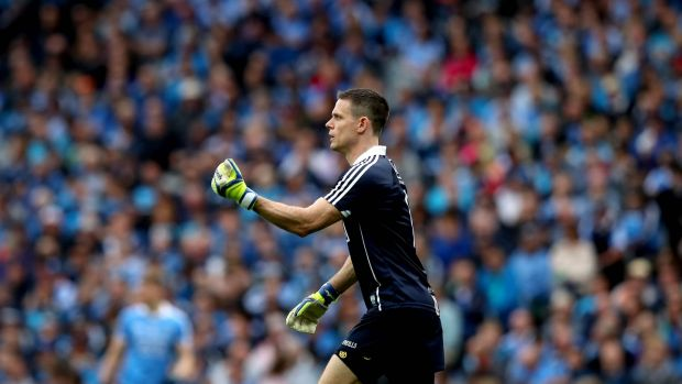 Dublin goalkeeper Stephen Cluxton became the GAA's record appearance maker. Photo: Ryan Byrne/Inpho