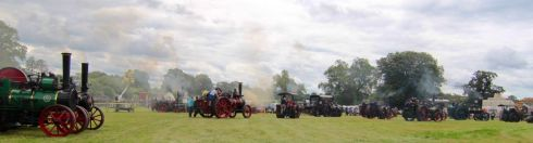 FULL STEAM AHEAD: A scene from the 53rd annual Stradbally Steam Rally, in Co Laois.