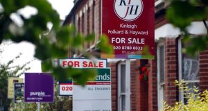 British house prices rose at their slowest pace in more than four years in the three months to July as households felt the pinch of inflation which is rising faster than wages, mortgage lender Halifax said on Monday.
