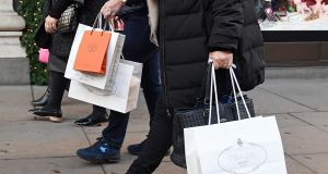 Consumer spending fell for the third month in a row in July, marking the biggest period of decline seen since 2013, a report has found. Photograph: Victoria Jones/PA Wire