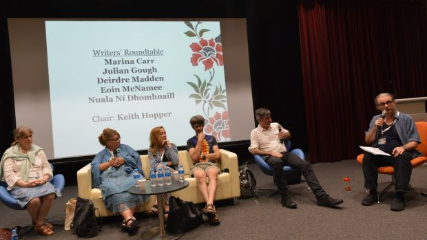 A panel discussion at IASIL in Singapore