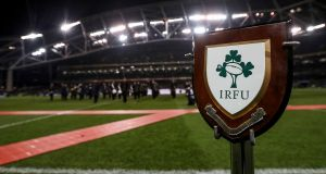 IRFU plaque. ©INPHO/Billy Stickland