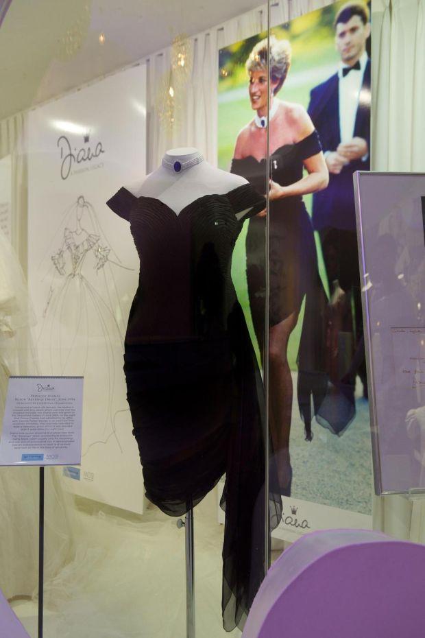 princess diana�s famous �revenge dress� comes to kildare